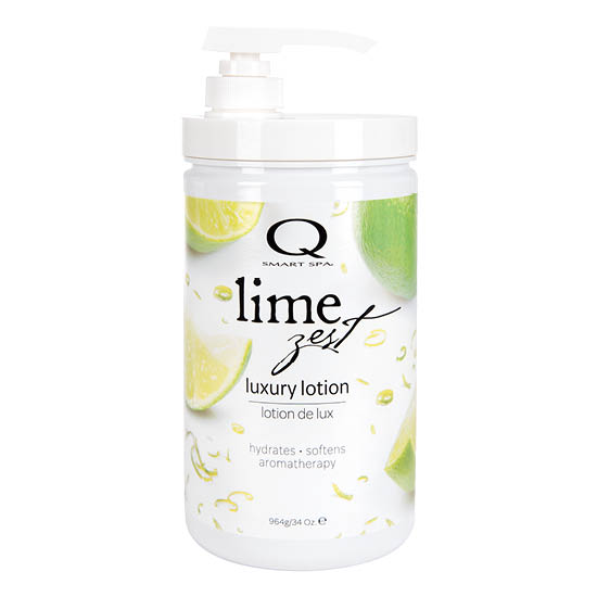 Lime Zest Luxury Lotion 34oz by Smart Spa