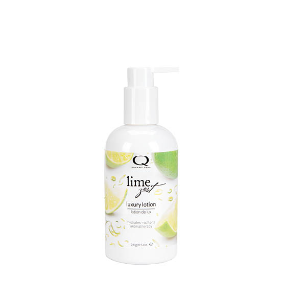 Lime Zest Luxury Lotion 8.5oz by Smart Spa