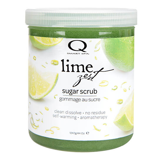 Lime Zest Sugar Scrub 44oz by Smart Spa