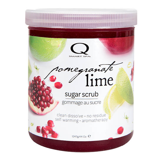 Pomegranate Lime Sugar Scrub 44oz by Smart Spa