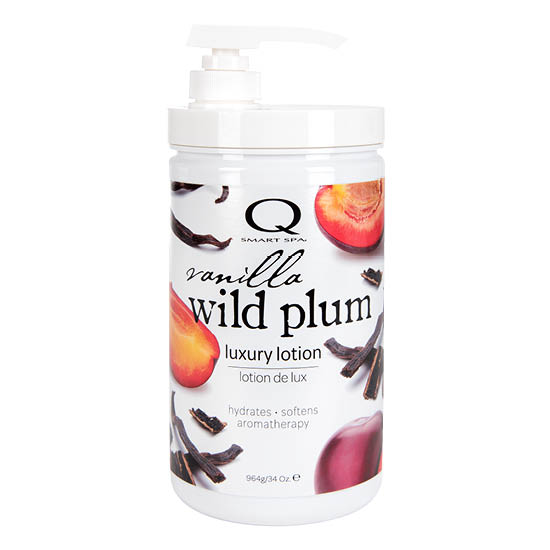 Vanilla Wild Plum Luxury Lotion 34oz by Smart Spa