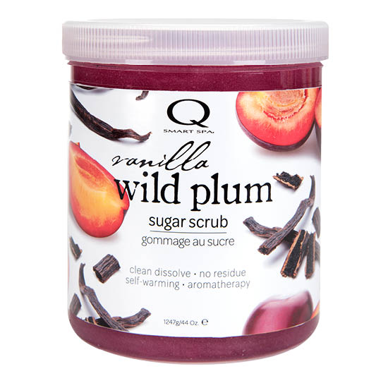 Vanilla Wild Plum Sugar Scrub 44oz by Smart Spa (main image)