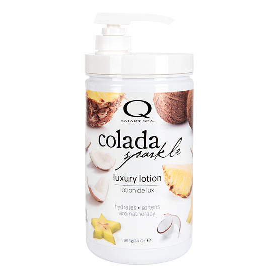 Colada Sparkle Luxury Lotion 34oz by Smart Spa