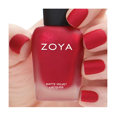 Zoya Nail Polish in Amal - MatteVelvet alternate view 2 (alternate view 2 full size)