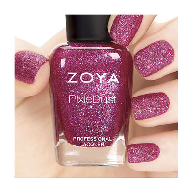 Zoya Nail Polish in Arabella PixieDust - Textured alternate view 2 (alternate view 2)