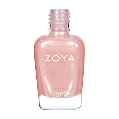 Zoya Nail Polish - Bebe - ZP261 - Pink, Metallic, Cool