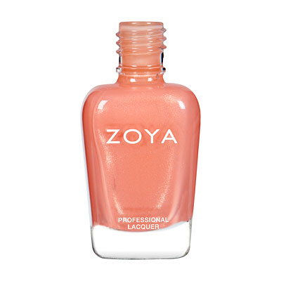Zoya Nail Polish - Cassi - ZP472 - Pink, Orange, Coral, Metallic, Warm