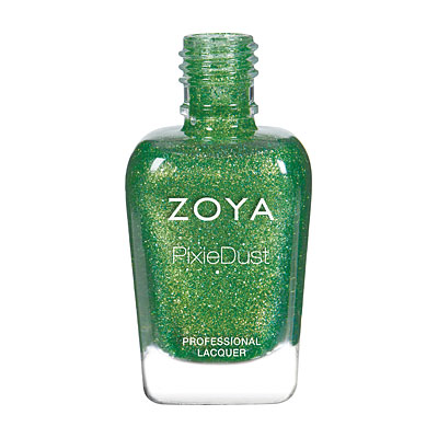Zoya Nail Polish - Cece - PixieDust - Textured - ZP844 - Green, Cool