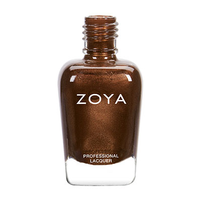 Zoya Nail Polish - Cinnamon - ZP812 - Brown, Metallic, Warm