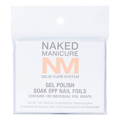 Gelie-Cure Soak Off Nail Foils enlarged