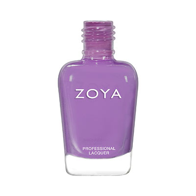 Zoya Nail Polish - Delia - ZP941 - Purple, Cream, Cool
