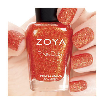 Zoya Nail Polish in Dhara - PixieDust - Textured alternate view 2 (alternate view 2 full size)