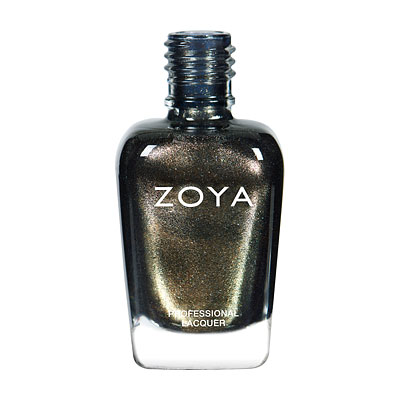 Zoya Nail Polish - Edyta - ZP525 - Green, Grey, Metallic, Cool