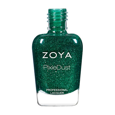 Zoya Nail Polish - Elphie - PixieDust - Textured - ZP871 - Green, Cool