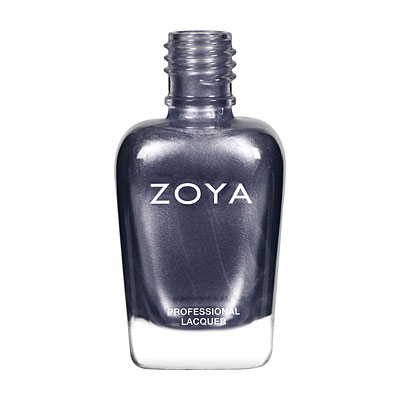 Zoya Nail Polish - Freja - ZP414 - Grey, Metallic, Cool
