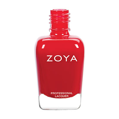 Zoya Nail Polish - Hannah - ZP805 - Red, Cream, Neutral