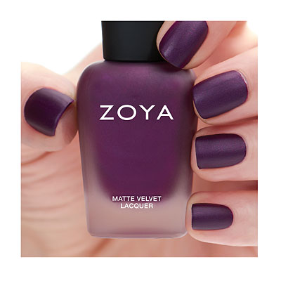 Zoya Nail Polish in Iris MatteVelvet alternate view 2 (alternate view 2 full size)