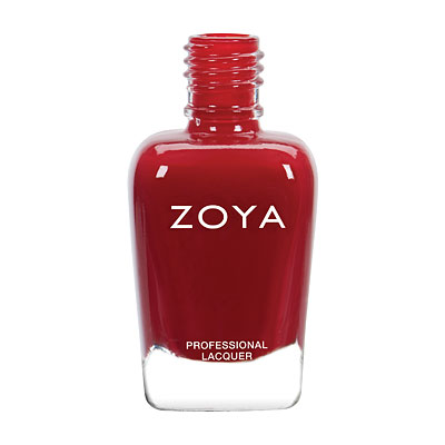 Zoya Nail Polish - Janel - ZP804 - Red, Cream, Warm