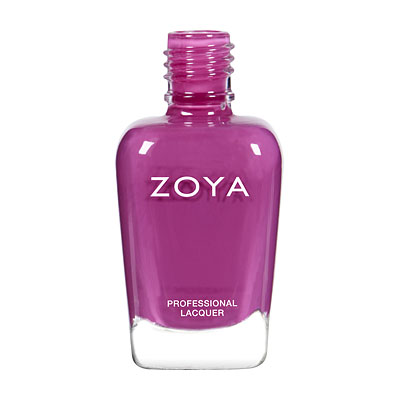 Zoya Nail Polish ZP555  Kieko  Purple Nail Polish Cream Nail Polish