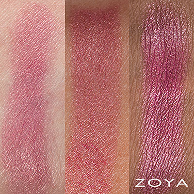 zoya lipstick in Kitty swatched on skin (alternate view 2 full size)