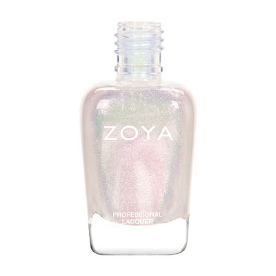 Zoya Nail Polish - Leia - ZP835 - White, Metallic, Neutral