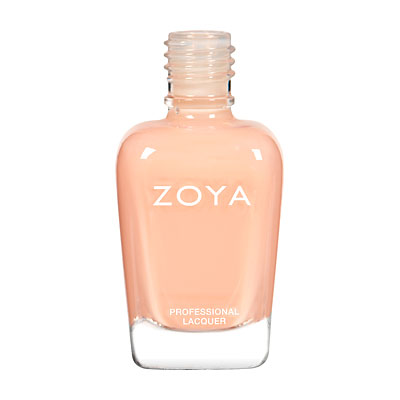 Zoya Nail Polish - Lulu - ZP434 - French, Nude, Nude, Orange, Coral, Cream, Warm