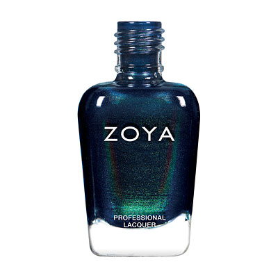Zoya Nail Polish - Olivera - ZP872 - Green, Blue, Metallic, Cool