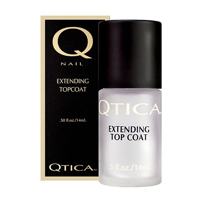 Qtica Extending Nail Polish Top Coat 0.5oz, QTET01