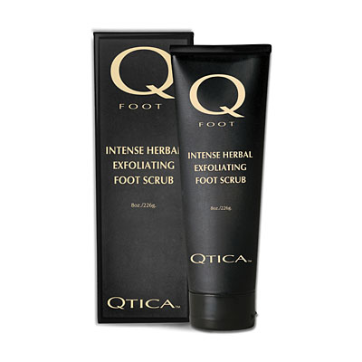 Qtica Herbal Exfoliating Foot Scrub 8oz Tube, QTFP01