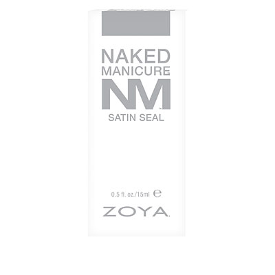 Zoya Naked Manicure Satin Seal Top Coat in Box