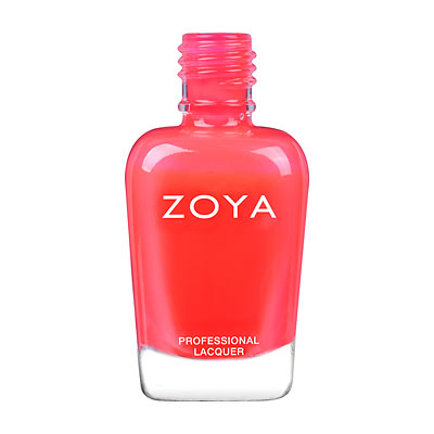 Zoya Nail Polish - Erza - Neon - ZP867 - Red, Neon, Cool