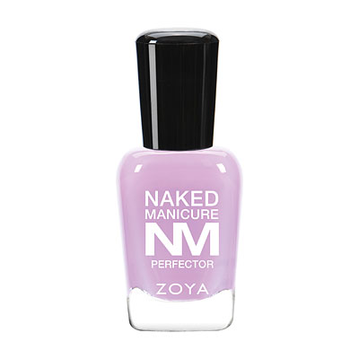 Zoya Nail Polish in Lavender PerfectorBottle and Cap