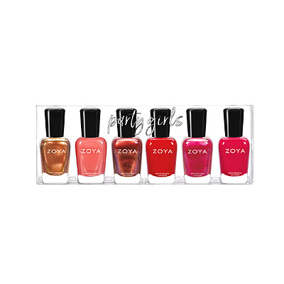 Shop party girls nail polishes lipsticks retail displays and party girls complete 6 pc set a reheart Choice Image
