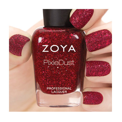 Zoya Nail Polish in Oswin - Ultra PixieDust - Textured alternate view 2 (alternate view 2 full size)