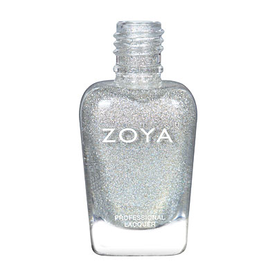 Zoya Nail Polish - Alicia - ZP859 - Silver, Holographic, Neutral
