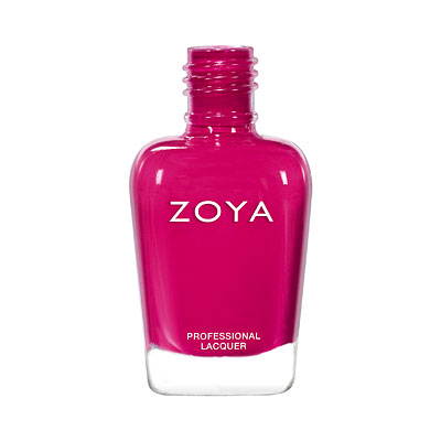 Zoya Nail Polish - Allison - ZP970 - pink, red, Cream, Warm