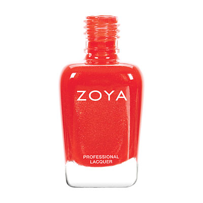 Zoya Nail Polish - Aphrodite - ZP795 - Red, Metallic, Warm