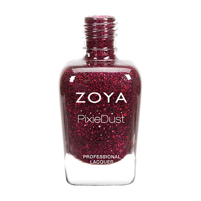 Zoya Nail Polish - Arianna Ultra PixieDust - Textured - ZP764 - Red, Cool