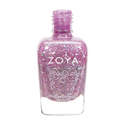 Zoya Nail Polish - Arlo Magical PixieDust - Textured - ZP763 - Purple, Cool