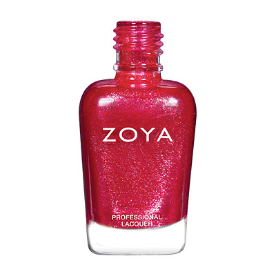 Zoya Nail Polish - Ash - ZP863 - Red, Metallic, Cool,Warm