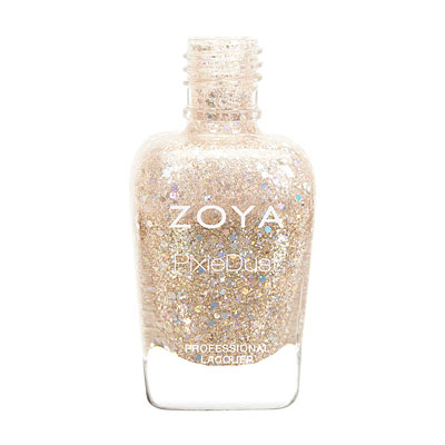 Zoya Nail Polish - Bar - Magical PixieDust - Textured - ZP761 - Nude,  Warm