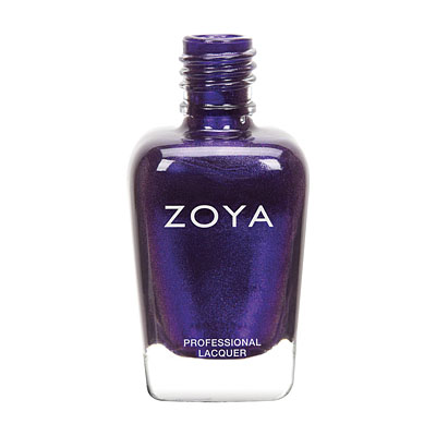 Zoya Nail Polish - Belinda - ZP678 - Purple, Metallic, Cool