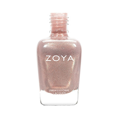 Zoya Nail Polish - Beth - ZP905 - Nude, Metallic, Warm