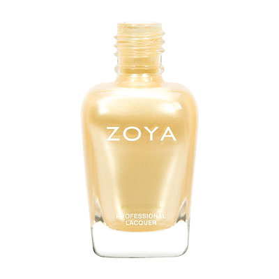 Zoya Nail Polish - Brooklyn - ZP725 - Yellow, Metallic, Warm