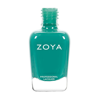 Zoya Nail Polish - Cecilia - ZP797 - Blue, Green, Teal, Cream, Warm