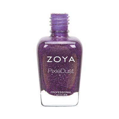 Zoya Nail Polish - Cookie - ZP971 - purple, PixieDust - Textured, Cool