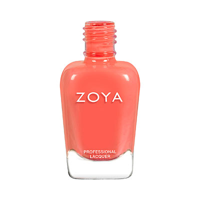 Zoya Nail Polish - Cora - ZP896 - Orange, Coral, Cream, Warm