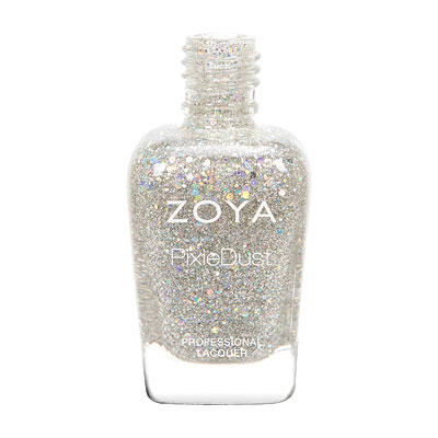 Zoya Nail Polish - Cosmo - Magical PixieDust - Textured - ZP717 - Silver, Grey, Neutral