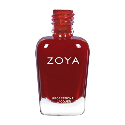 Zoya Nail Polish - Courtney - ZP856 - Red,Purple,Plum, Cream, Warm,Cool