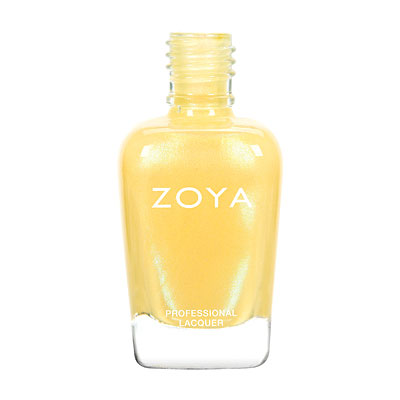Zoya Nail Polish - Daisy - ZP775 - Yellow, Metallic, Cool